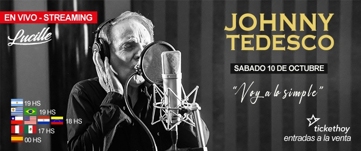 Johnny Tedesco - Presenta - Voy a lo Simple